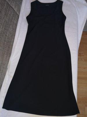 Trägerkleid/ Maxikleid in schwarz