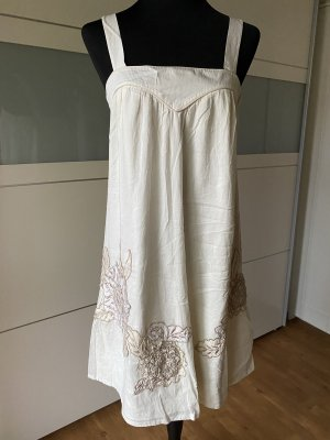 French Connection Pinafore dress cream-camel