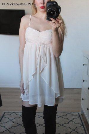 Vila Babydoll Dress cream-nude