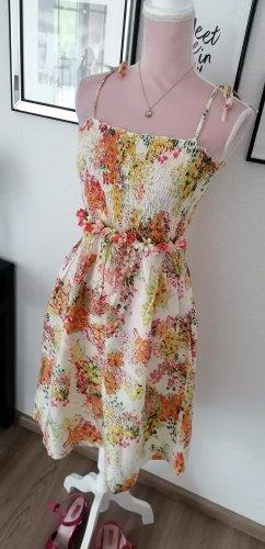 Trägerkleid Sommer Blumen
