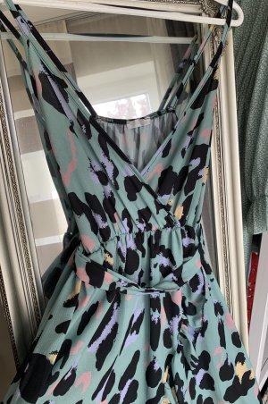Made in Italy Asymetryczna sukienka Wielokolorowy