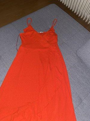 Zara Sukienka na ramiączkach czerwony