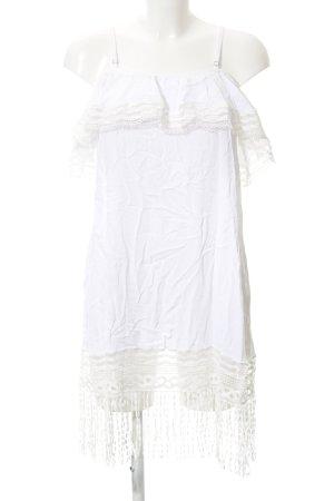 Trägerkleid weiß