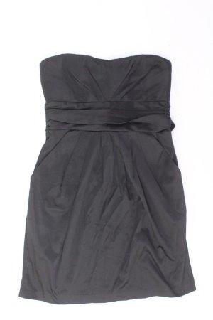 Sukienka z dekoltem typu bandeau czarny Bawełna