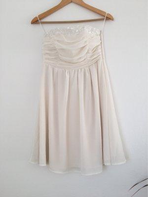 Vila Vestido de baile blanco puro