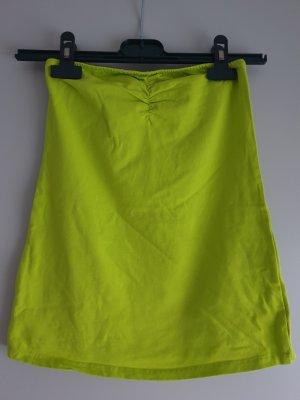 Modepark Röther Top a fascia giallo lime