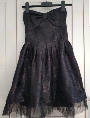 American Vintage Sukienka bez ramiączek czarny