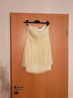 trägerloses gelbes Kleid von Vera Mont, Gr. 38