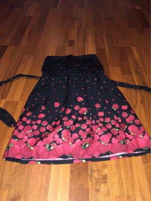 Trägerloses Kleid Äpfel