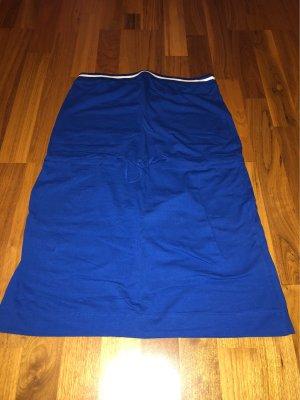 Trägerloses Kleid blau