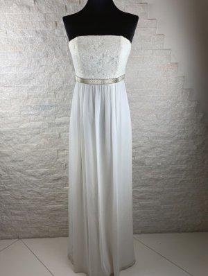 Barbara Schwarzer Suknia ślubna w kolorze białej wełny