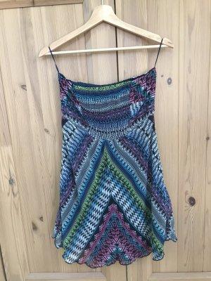 Bershka Off-The-Shoulder Dress multicolored