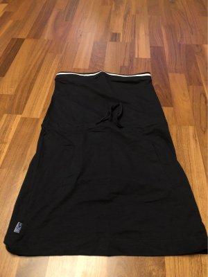 Trägerloses Kleid schwarz