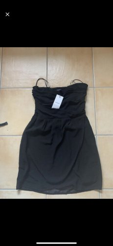 Mango Bandeau Dress black