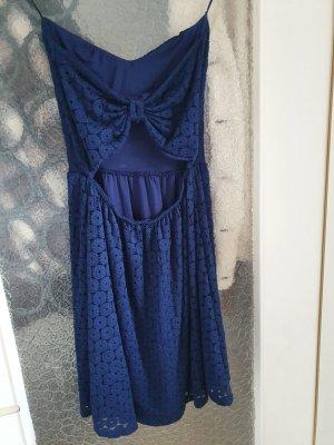 Pimkie Off-The-Shoulder Dress blue
