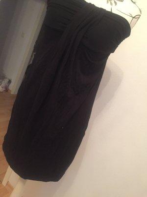 Trägerloses lockeres Kleid