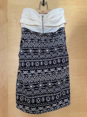 Ardene Sukienka mini czarny-biały