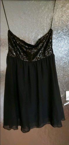 C&A Robe à paillettes noir
