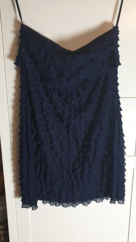 esprit collection Bustierjurk donkerblauw Polyester