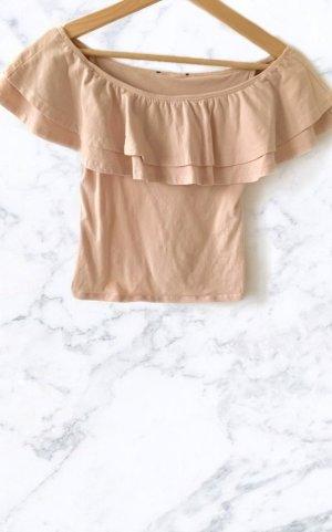 H&M Hauts épaule nues rosé
