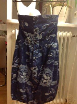 Vero Moda Balloon Dress blue-white
