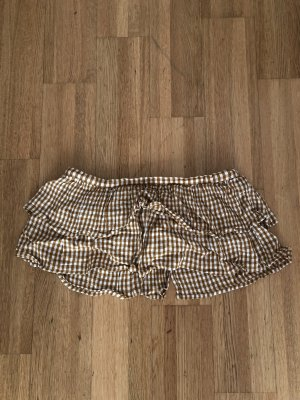 Urban Outfitters Bandeau top goud Oranje-wit