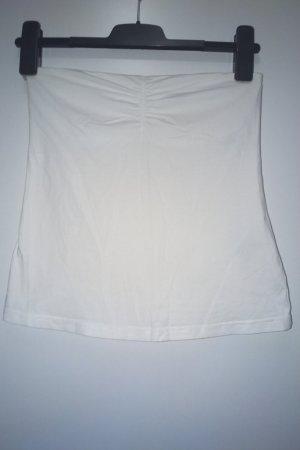 Esmara Top a fascia bianco