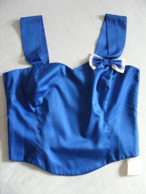 Helene Straßer Traditional Camisole steel blue cotton