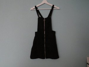H&M Pinafore Overall Skirt black