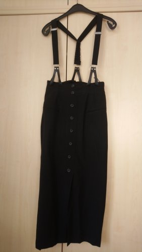 Pinafore skirt black