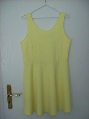 Trägerschlupfkleid gelb von H&M DIVIDED