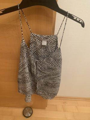 H&M Canotta a bretelle grigio