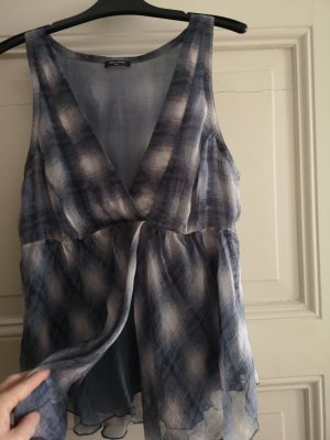 Marc O'Polo Silk Top slate-gray silk