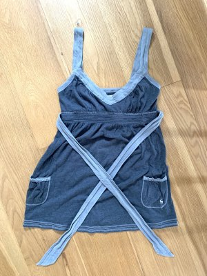 Abercrombie & Fitch Strappy Top light grey-grey