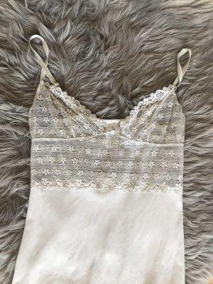 H&M Camicia a maniche corte crema