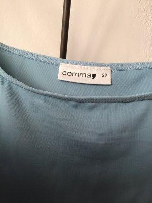 Comma Spaghettibandtopje lichtblauw