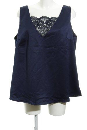 Navabi Strappy Top dark blue classic style