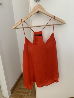Rut & Circle Strappy Top red-dark red