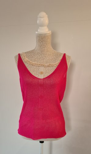 Trägertop Strick - pink - Größe 38 M - Orsay - neu - pink