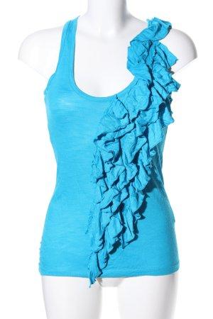 Trägertop blau Casual-Look