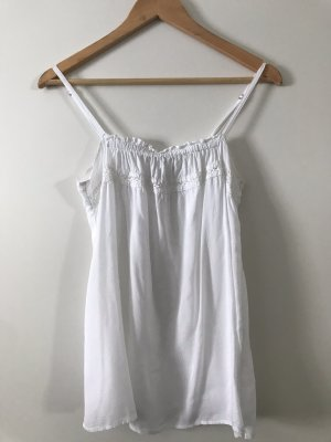 Only Crochet Top white viscose