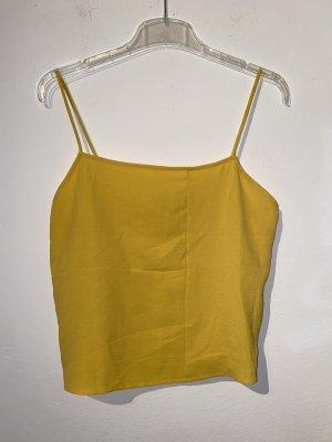 Trägertop Zara gelb