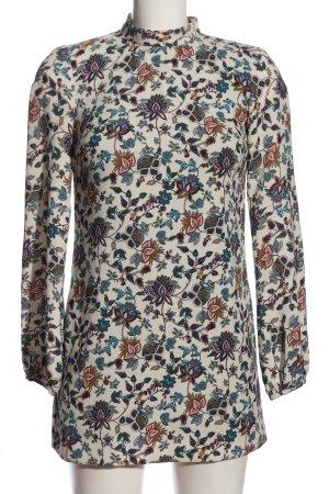 Trafaluc by Zara A-Linien Kleid Blumenmuster Casual-Look