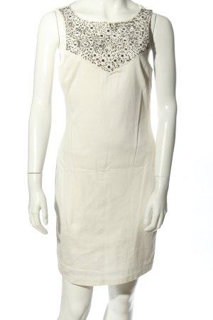 Trafaluc by Zara Minikleid wollweiß-silberfarben Elegant