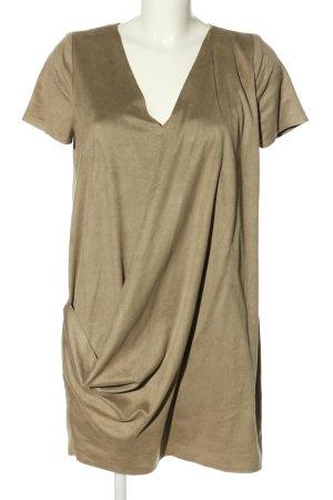Trafaluc by Zara Minikleid goldfarben Casual-Look