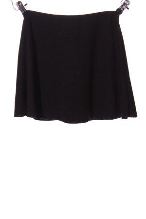 Zara Trafaluc Mini rok zwart zakelijke stijl