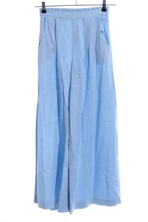 Traffic people Bundfaltenhose blau Casual-Look