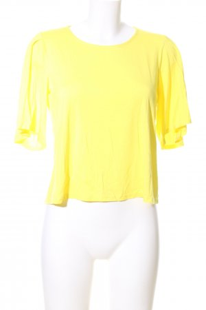 Traffic people Cropped Shirt blassgelb Casual-Look