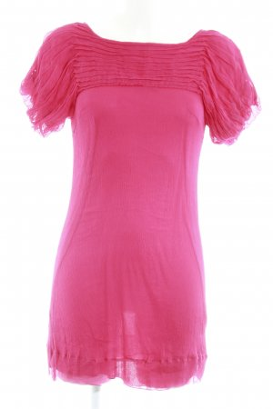 Traffic people Kurzarmkleid magenta Casual-Look