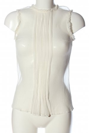 Traffic people Schlupf-Bluse creme Casual-Look